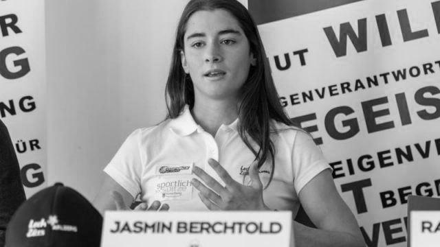 Der Weg in den Spitzensport – Jasmin Berchtold 01